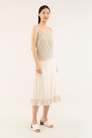 Heidi Scallop-trim Camisole