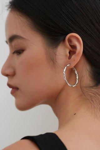 Fauve Hoop Earrings