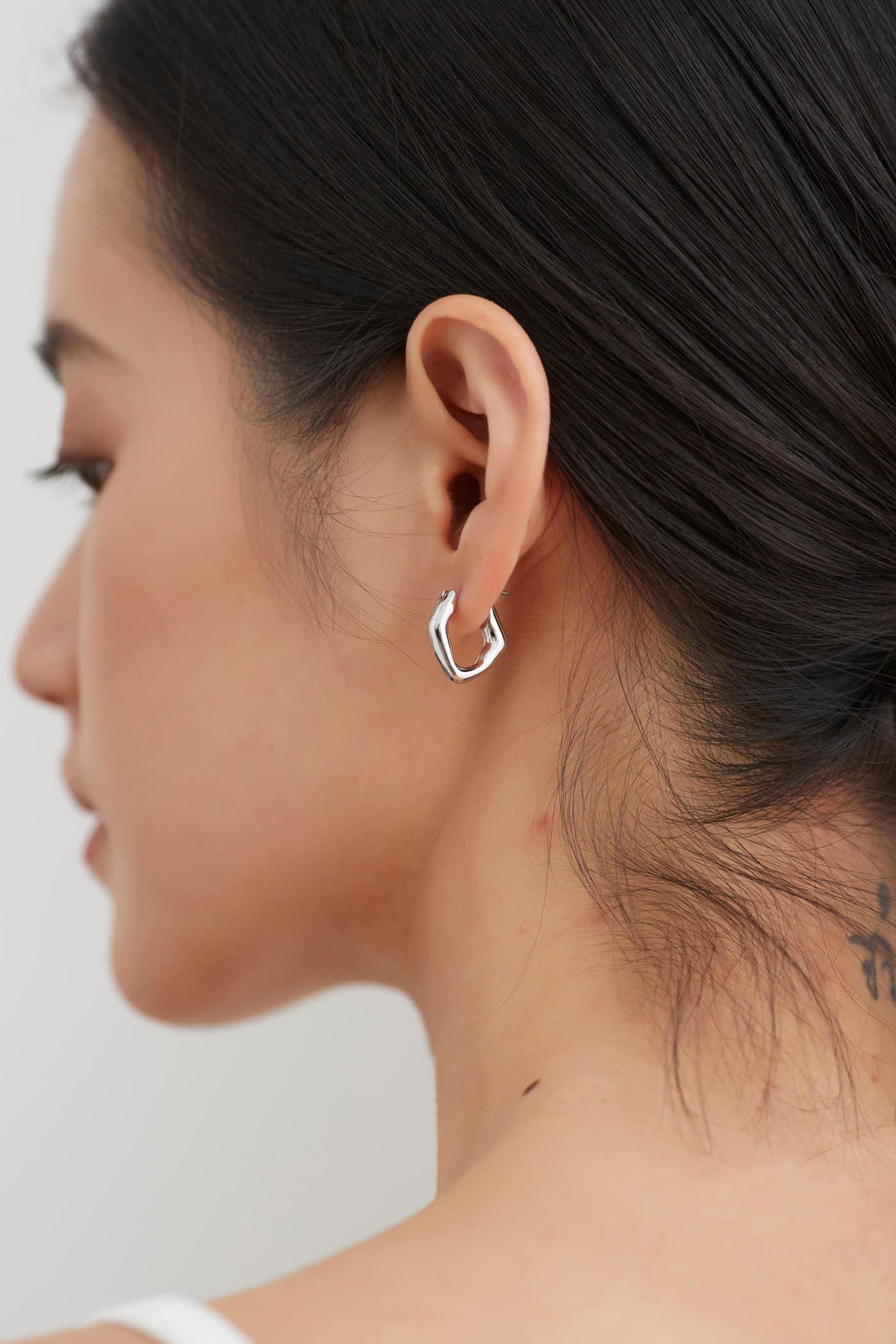 Avy Hoop Earrings