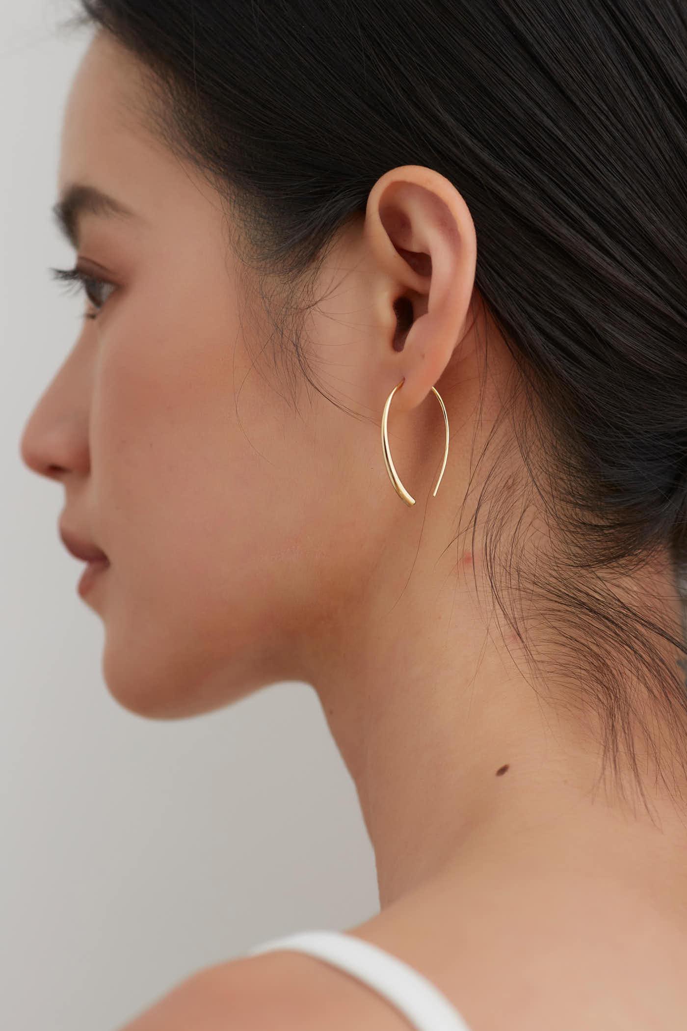 Laina Hoop Earrings