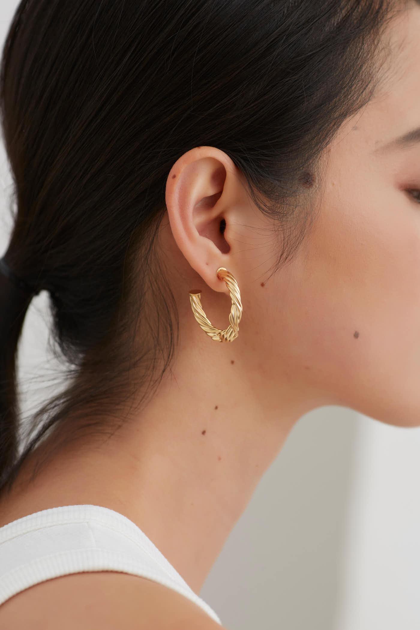 Gabe Hoop Earrings