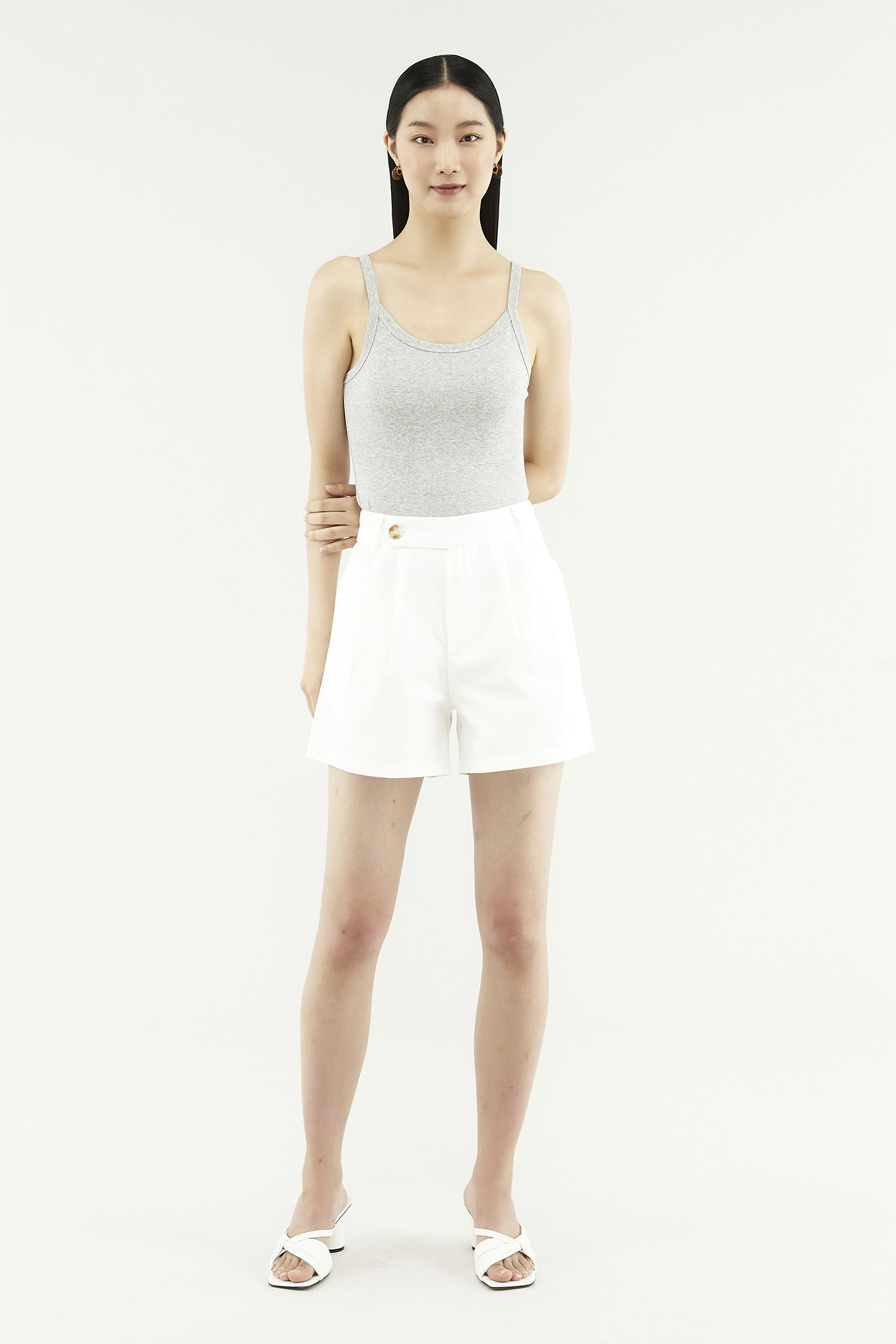 Dacey Double-pleat Shorts