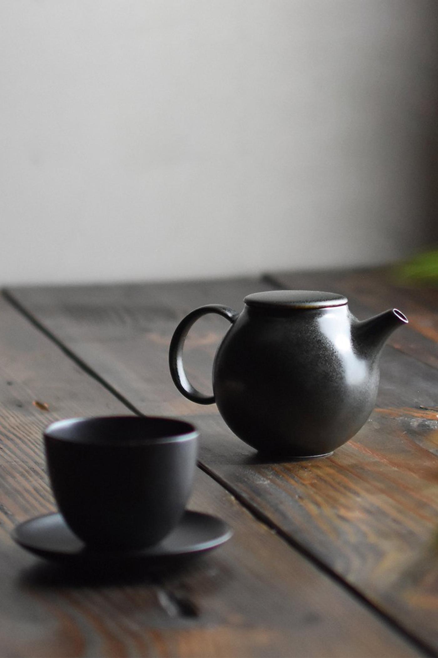 Kinto Pebble Cup and Saucer