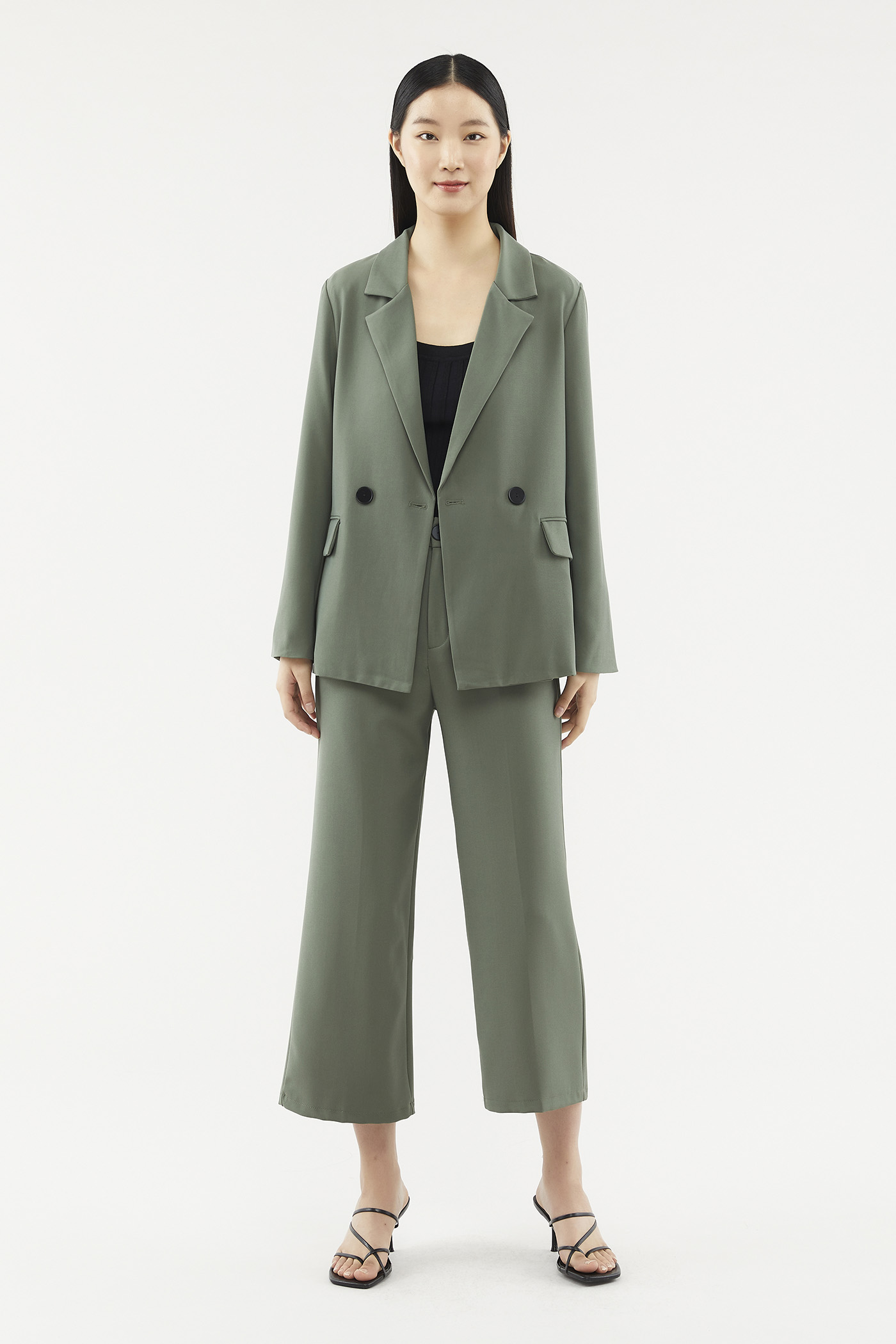 Halton Double-button Blazer