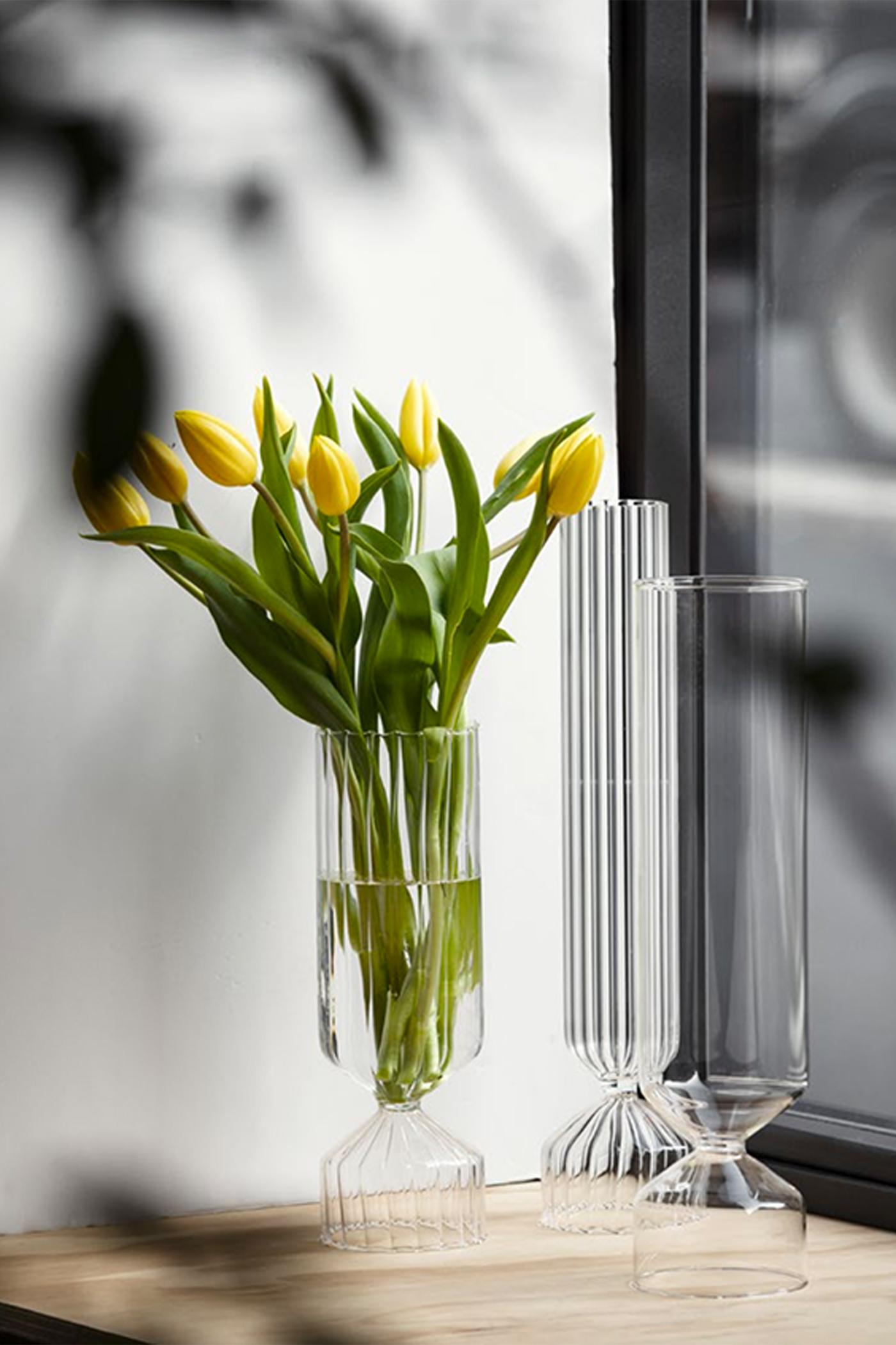 Ichendorf Bouquet Optic Tall Vase