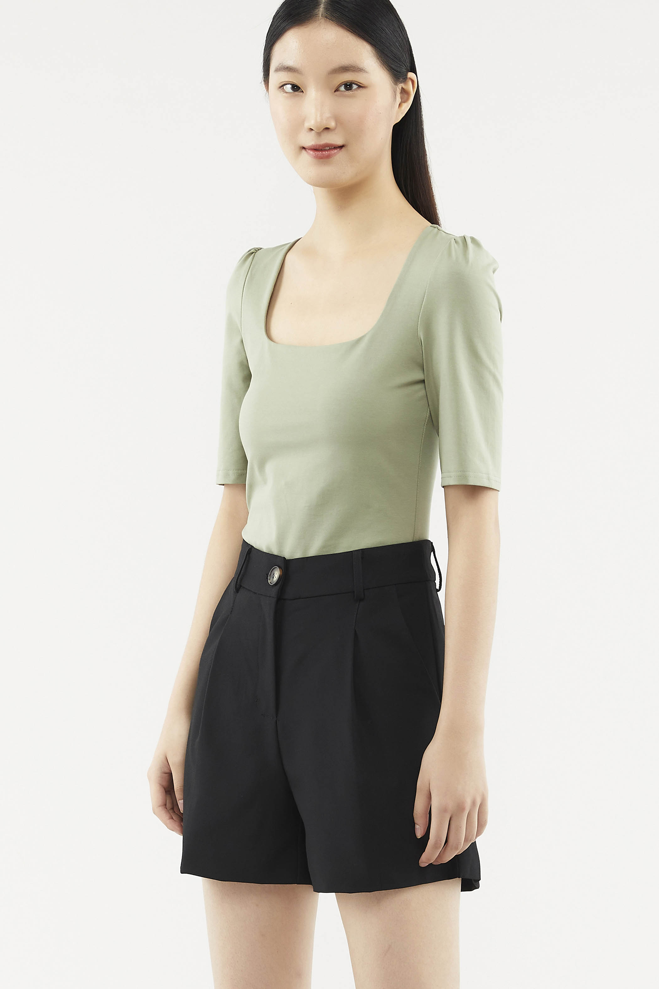 Velisa Square-neck Blouse