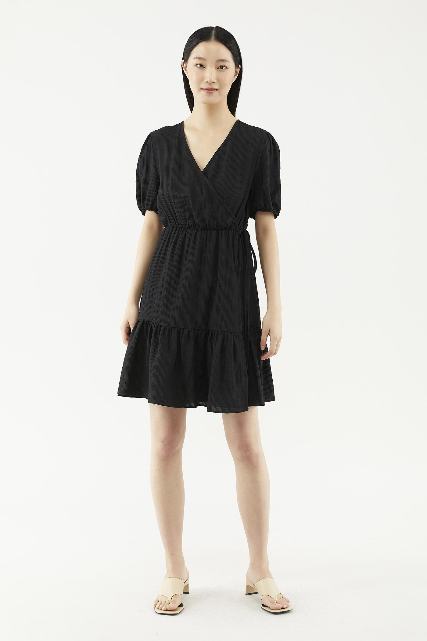 Karyse Cross-front Dress