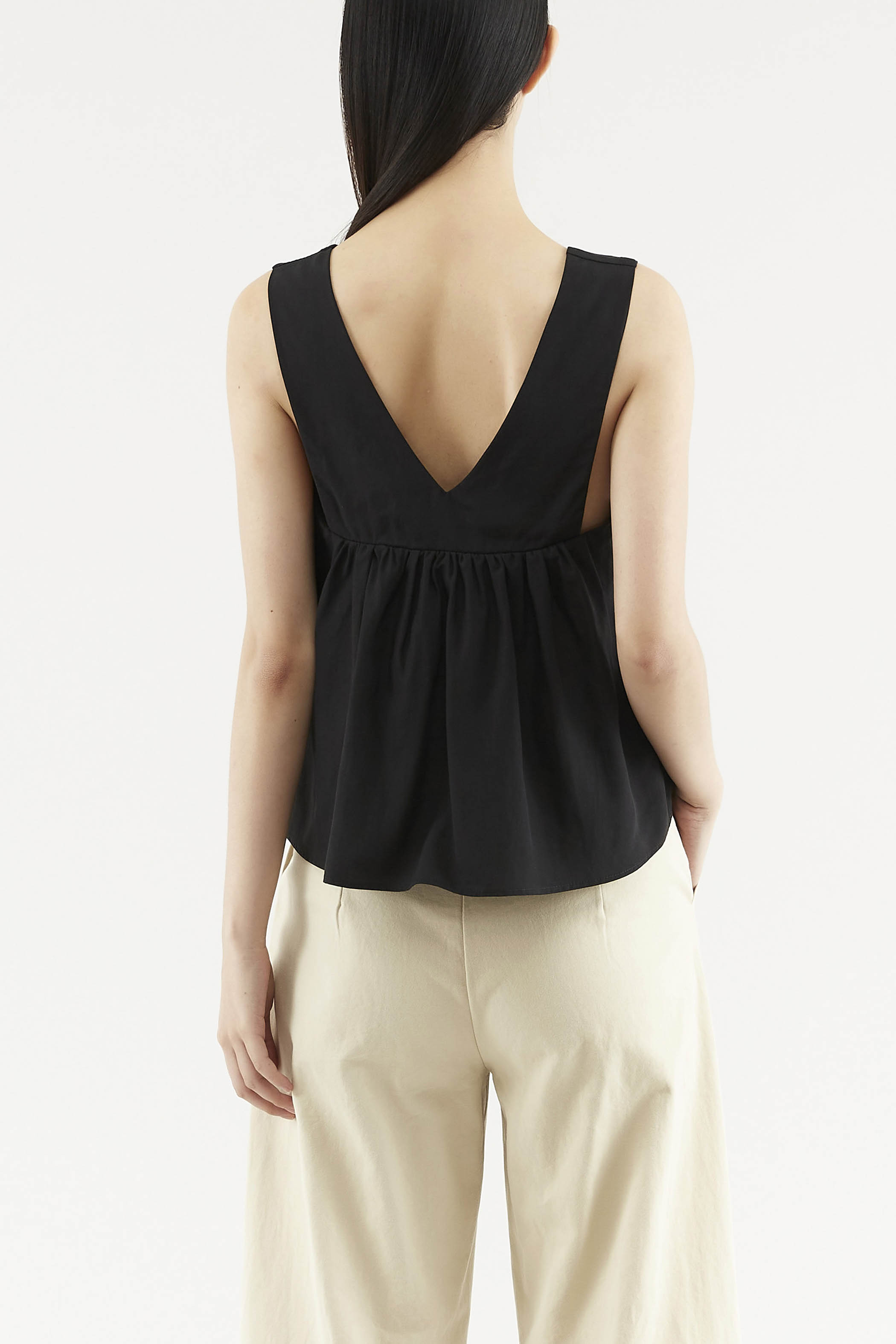 Cathie V-neck Top