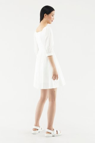 Jamelia Square-neck Dress
