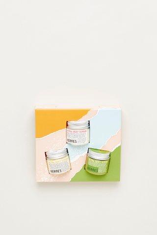 Handmade Heroes Lip Scrub Kit