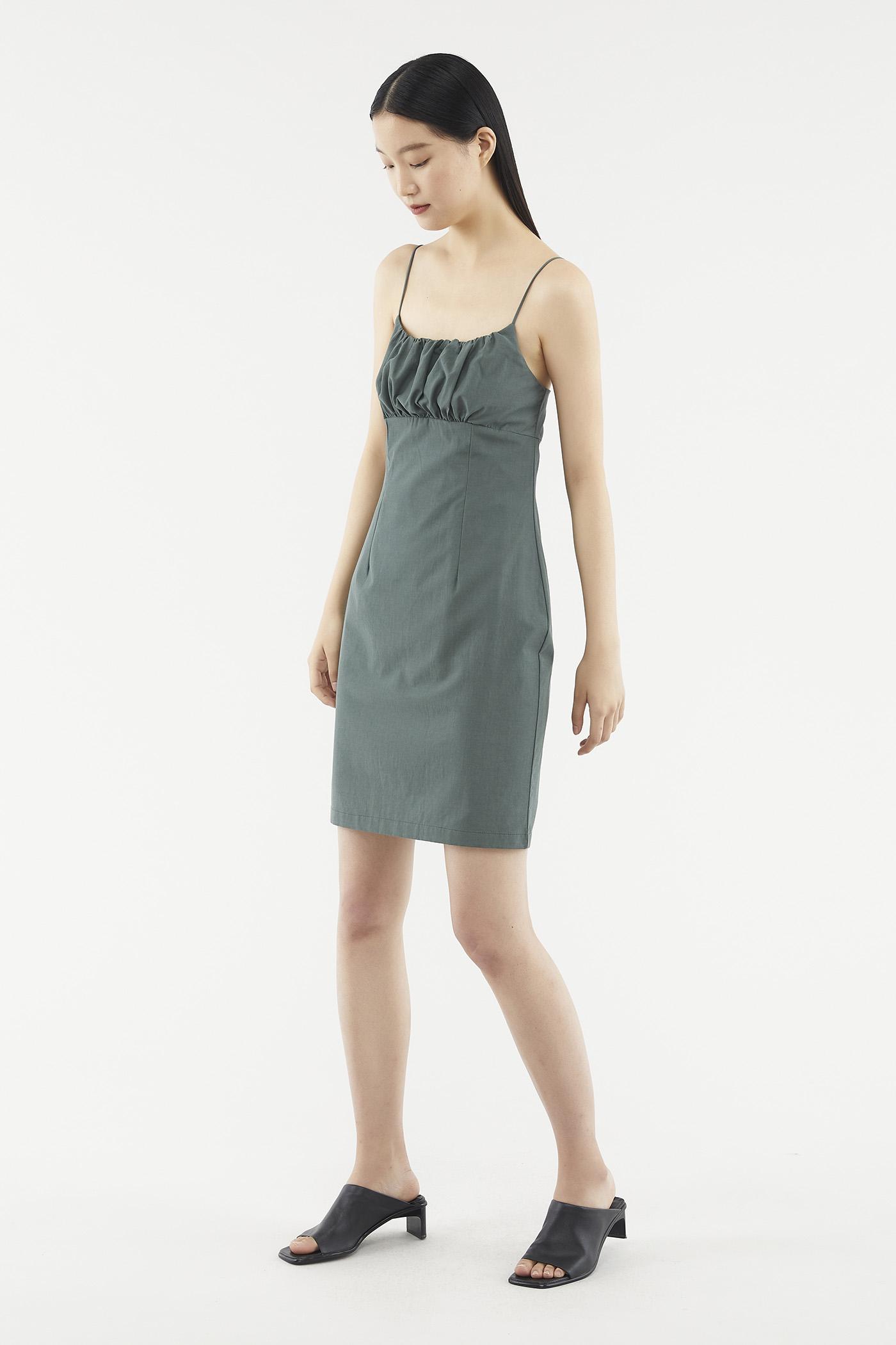 Jamisha Ruched Mini Dress