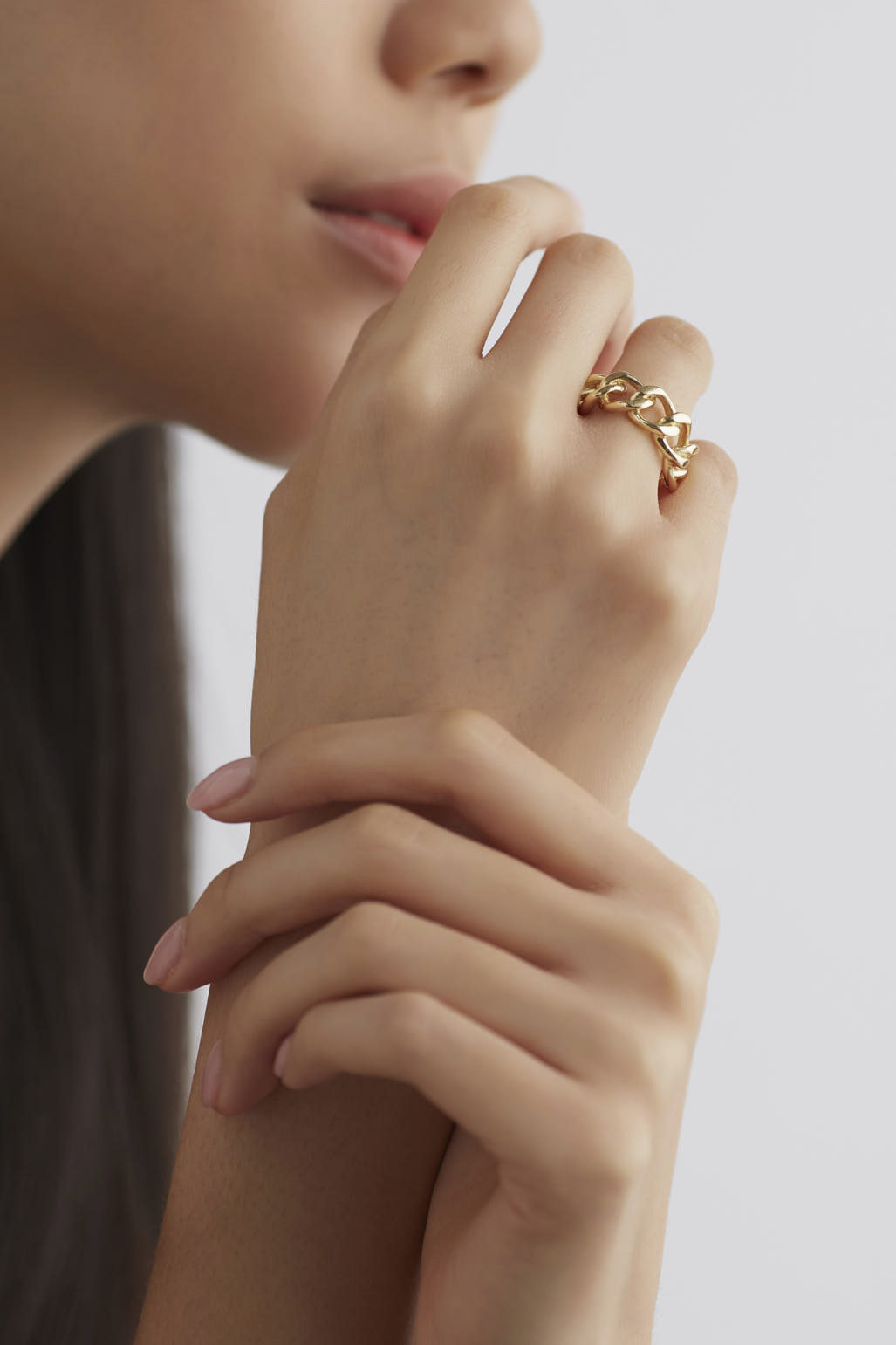 Ceren Chain Ring