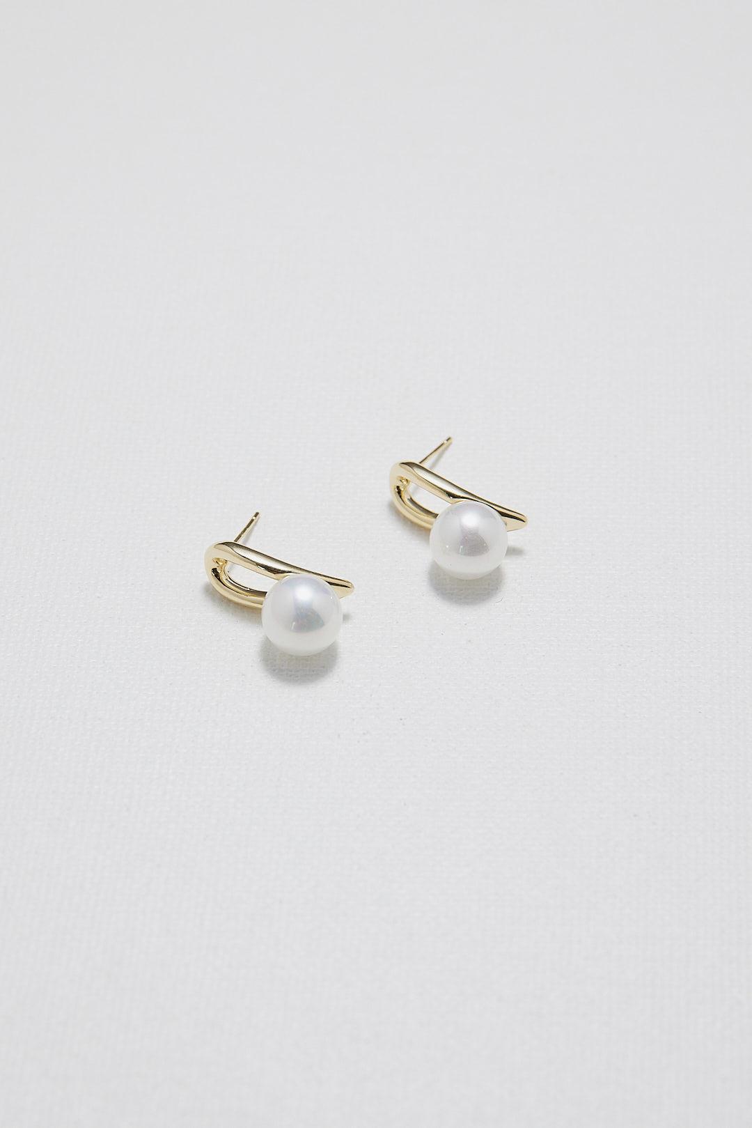 Gracie Pearl Earrings