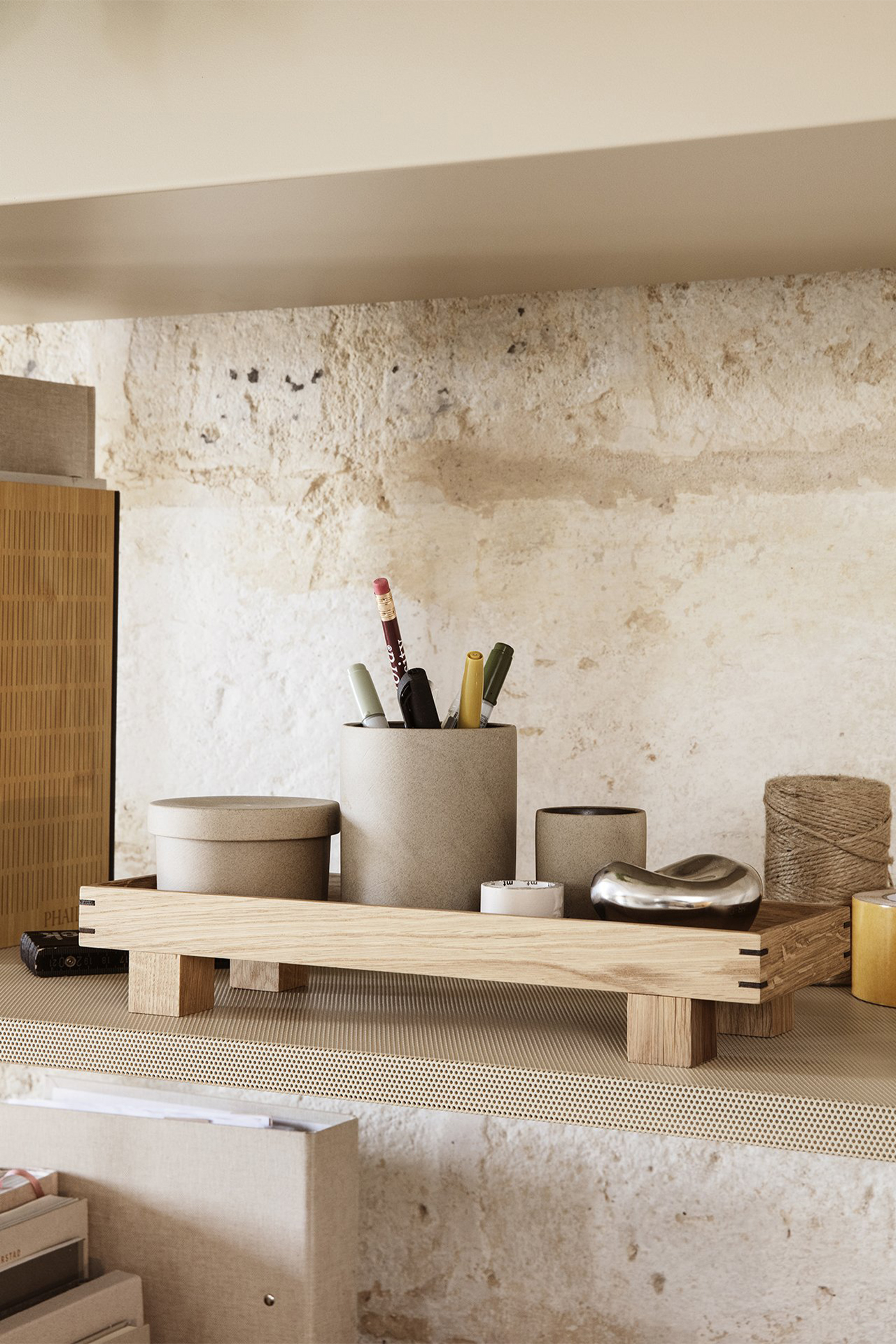 Ferm Living Bon Wooden Tray