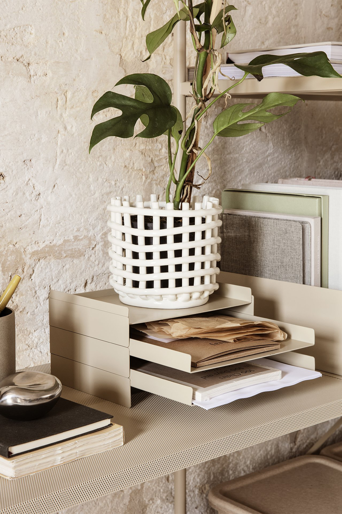 Ferm Living Ceramic Basket