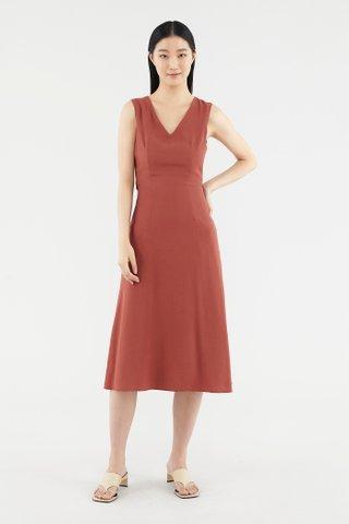 Jaelea V-neck Dress