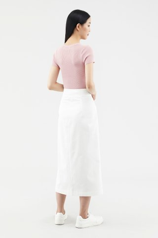 Lovena Button-through Skirt