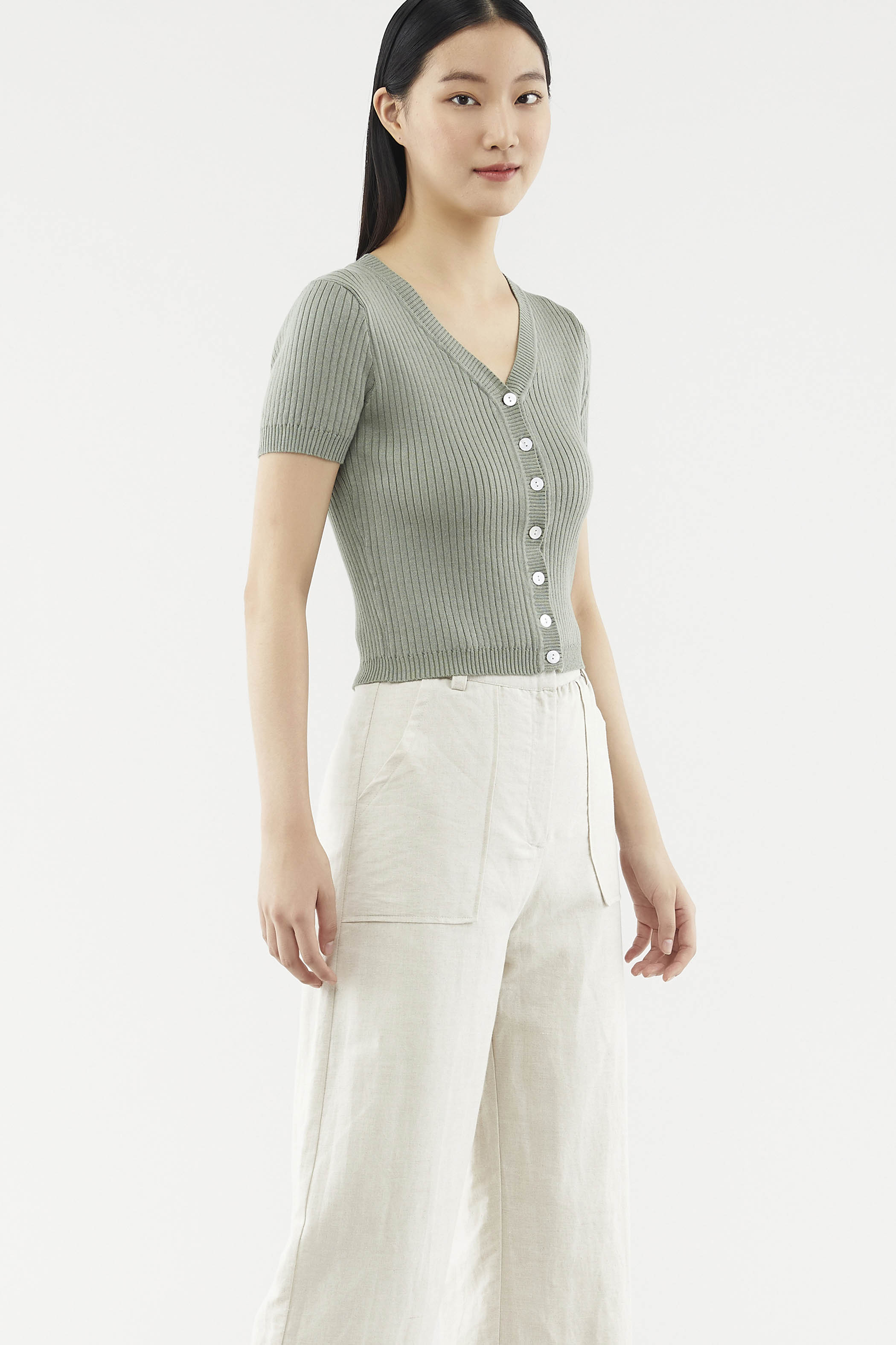 Tamila Knit Crop Top