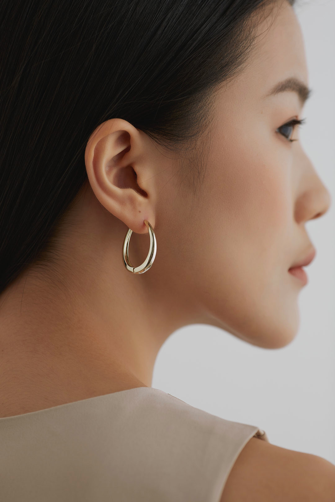 Abele Hoop Earrings