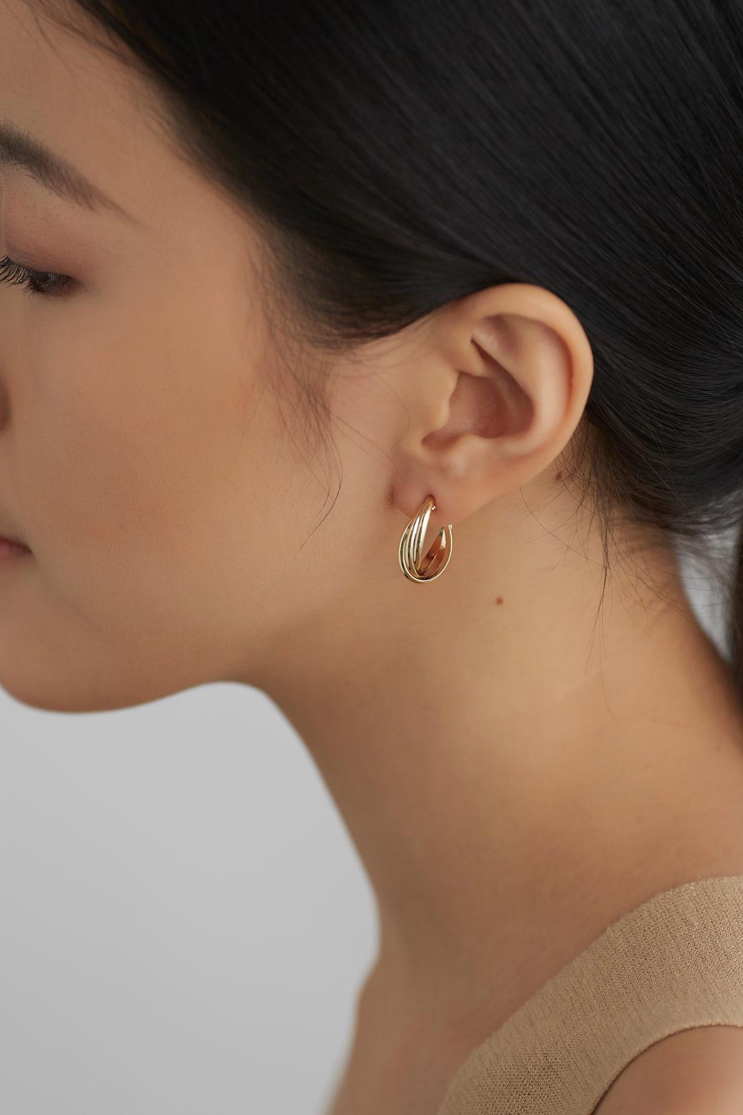 Xylin Hoop Earrings