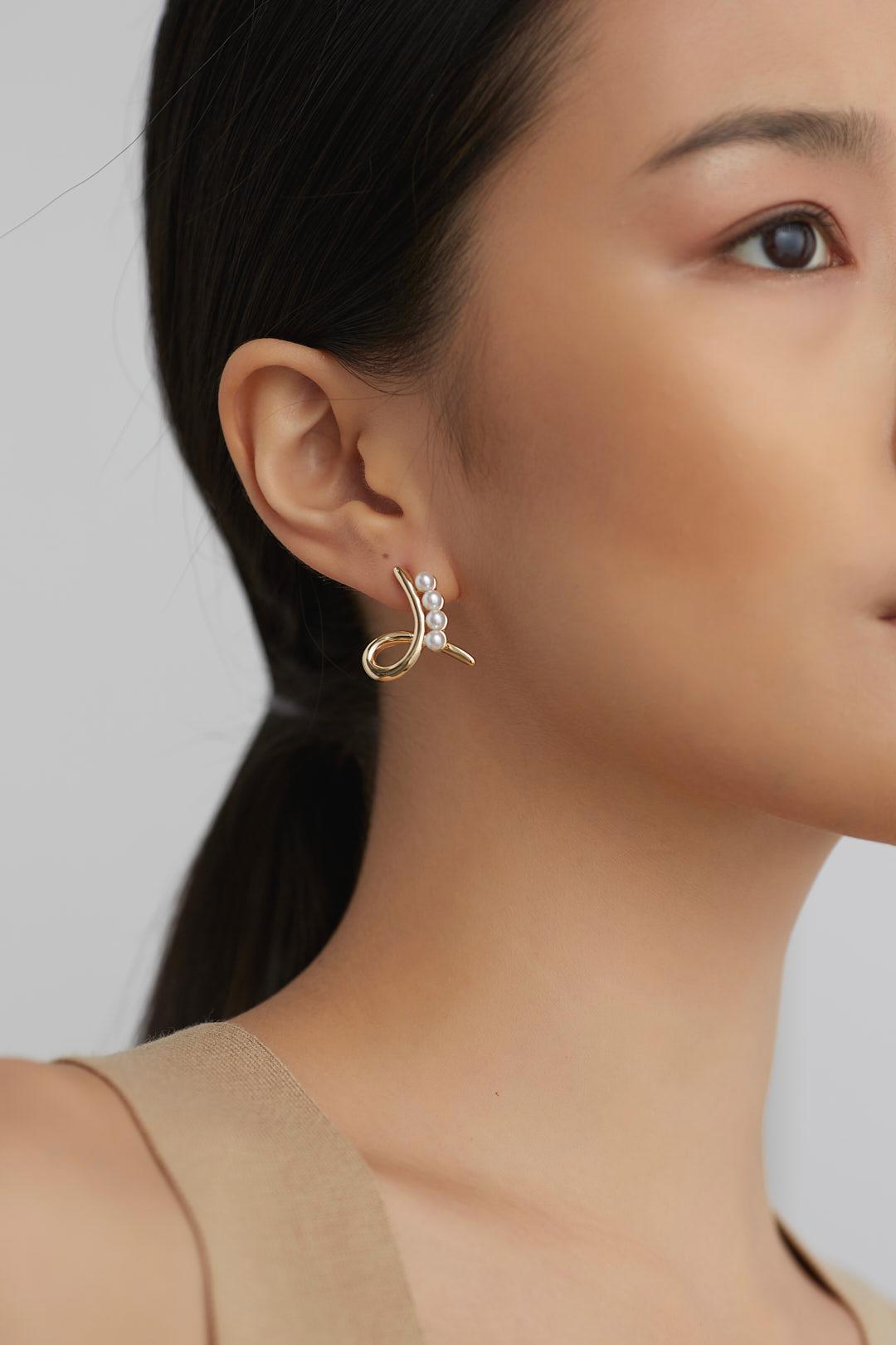 Pennie Twist Earrings