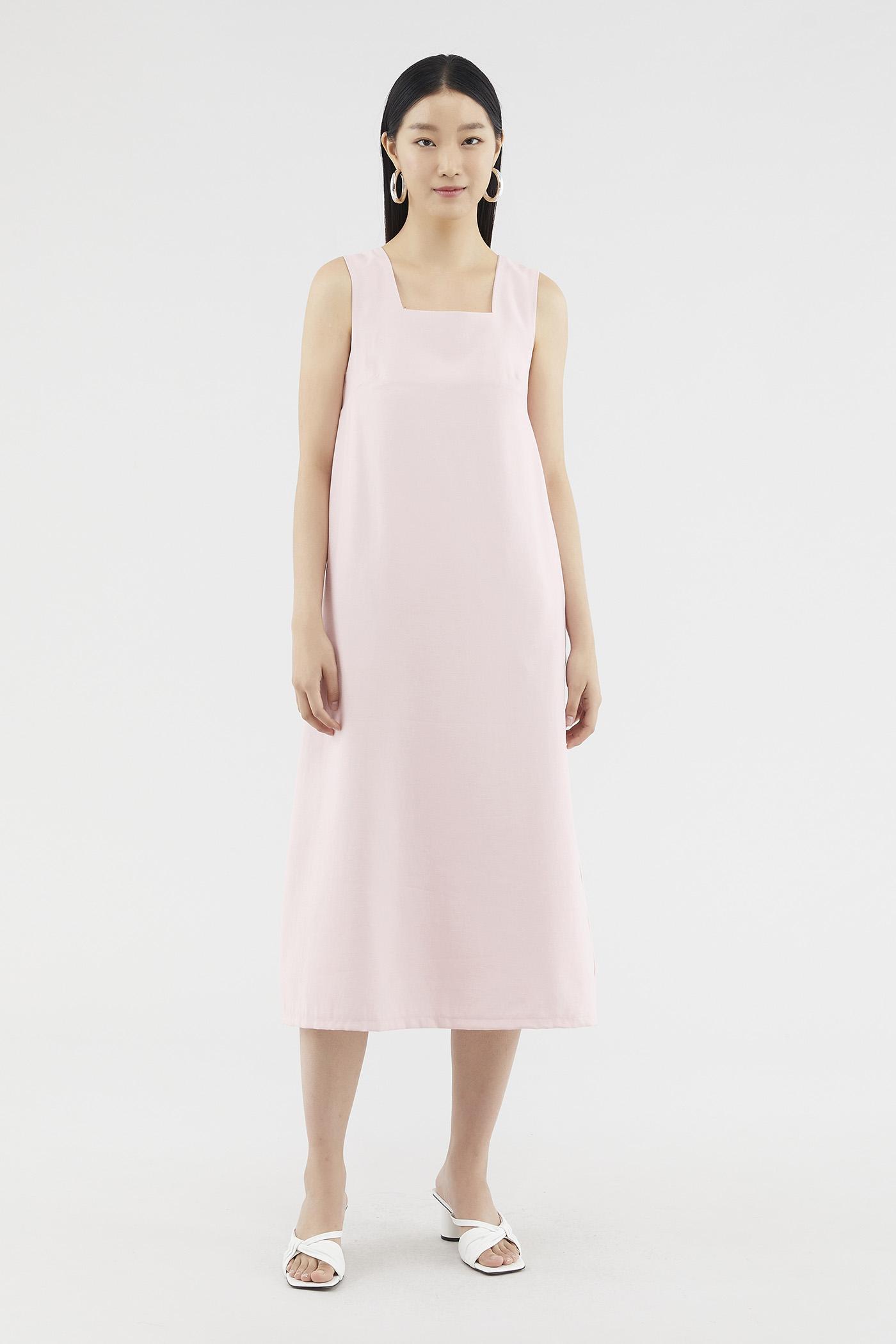Ryanna Back-pleat Dress