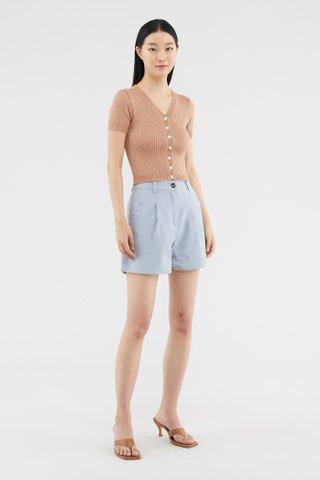 Tevan Slim-fit Shorts