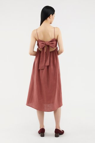 Lauryn Back-tie Dress