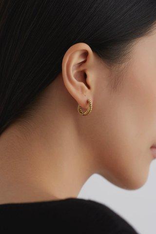 Cecily Hoop Earrings