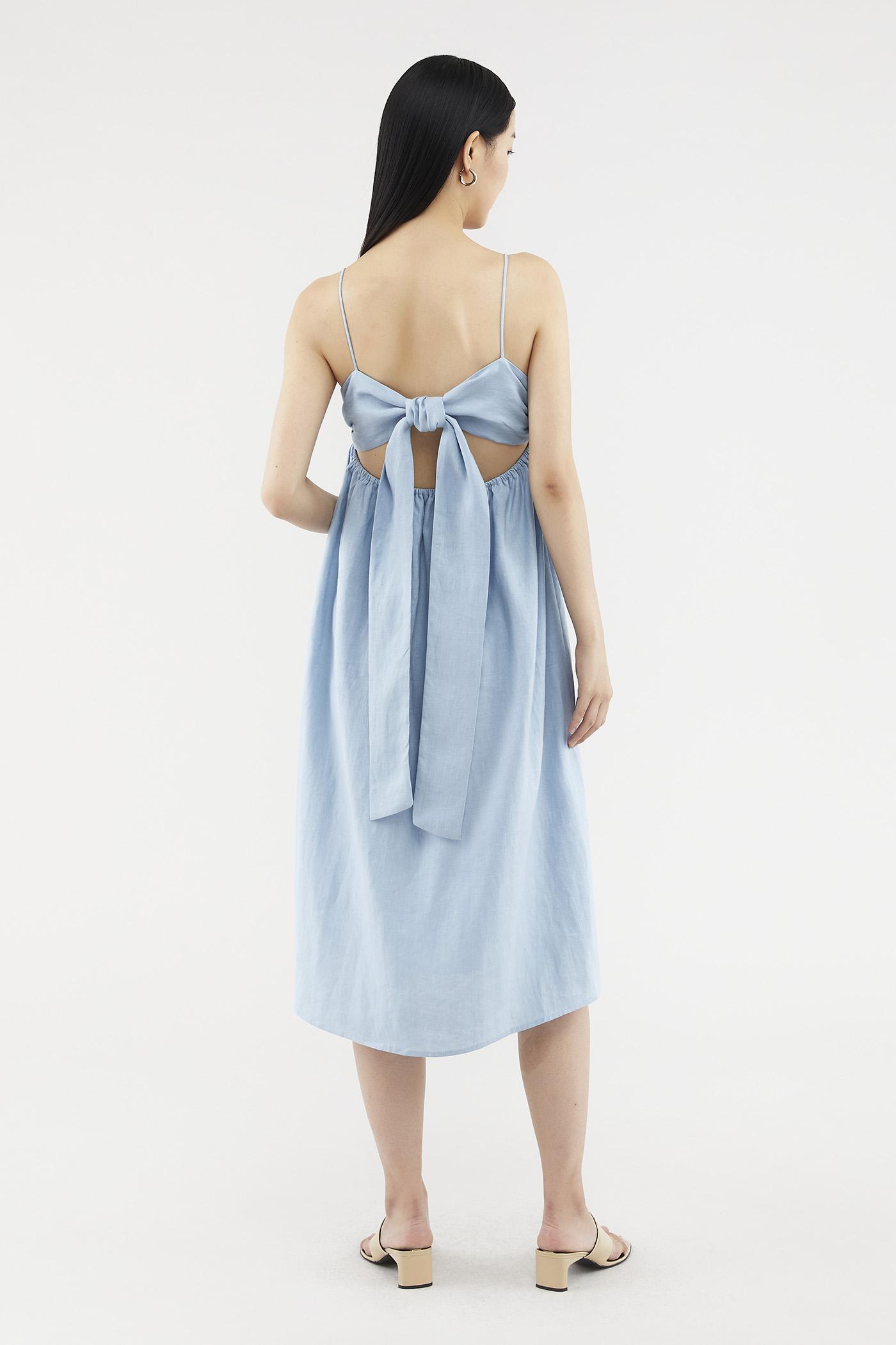 Lauryn Back-tie Dress