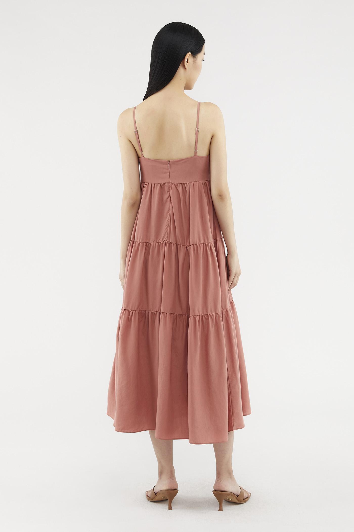 Yulissa Tiered Maxi Dress