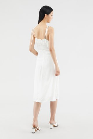 Shalynn Ruched-front Dress